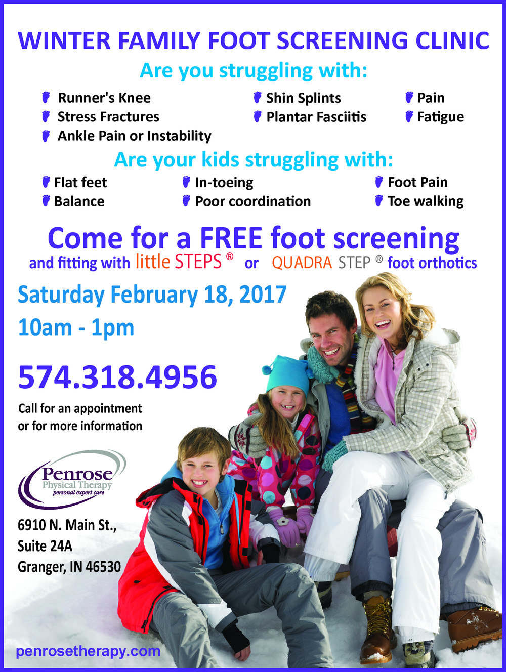 Family Foot Screening Day