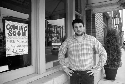 Chad Kampe, executive director of Rock Star Supply Co. (Photo by Kristal Leebrick)