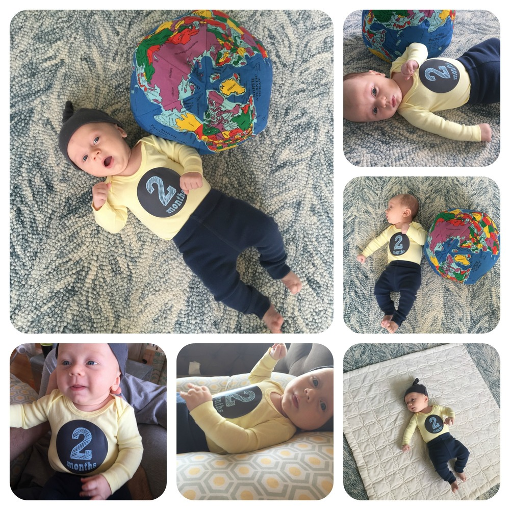 My sweet students gifted Oliver with an Earth pillow to welcome him into the world :)