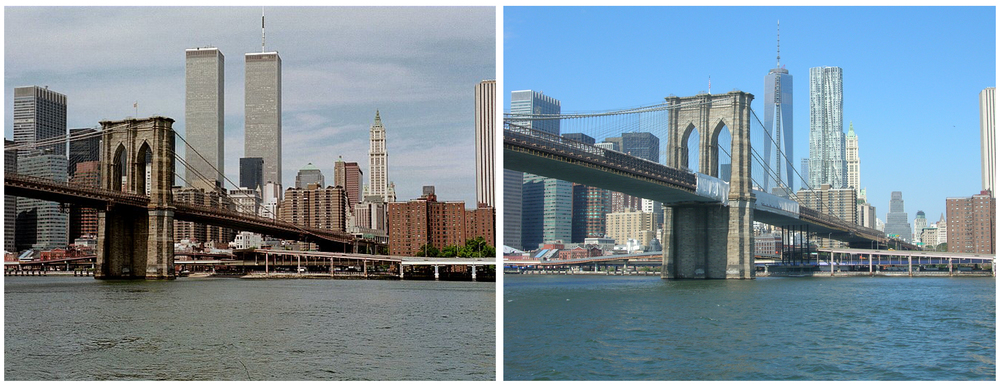 Image on the left found  here .  Image on the right was taken by me on Sunday from the Circle Line.