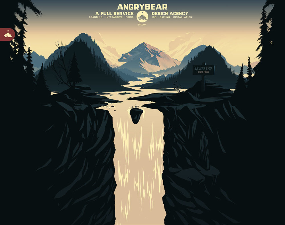 Angry Bear Illustration & Site Design