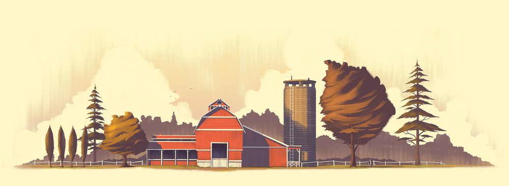 The Farm | Print Available