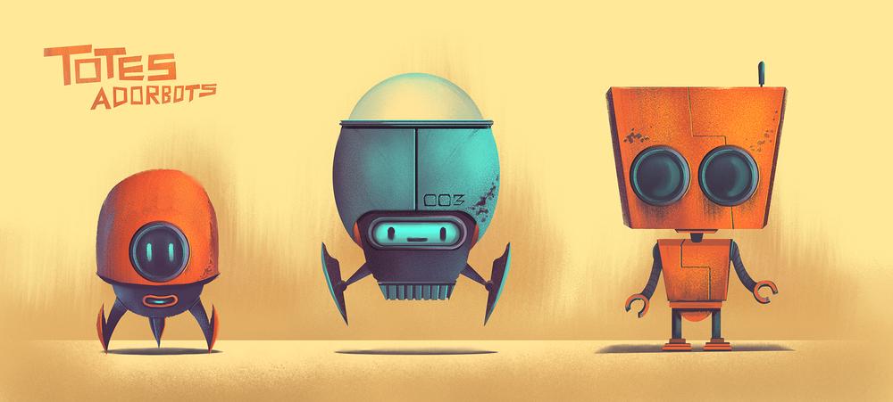 Totes Adorebots: Heroes