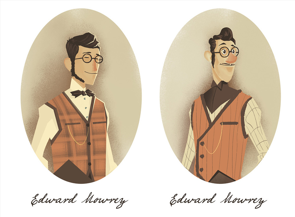 Mowrey Manor Character Concepts