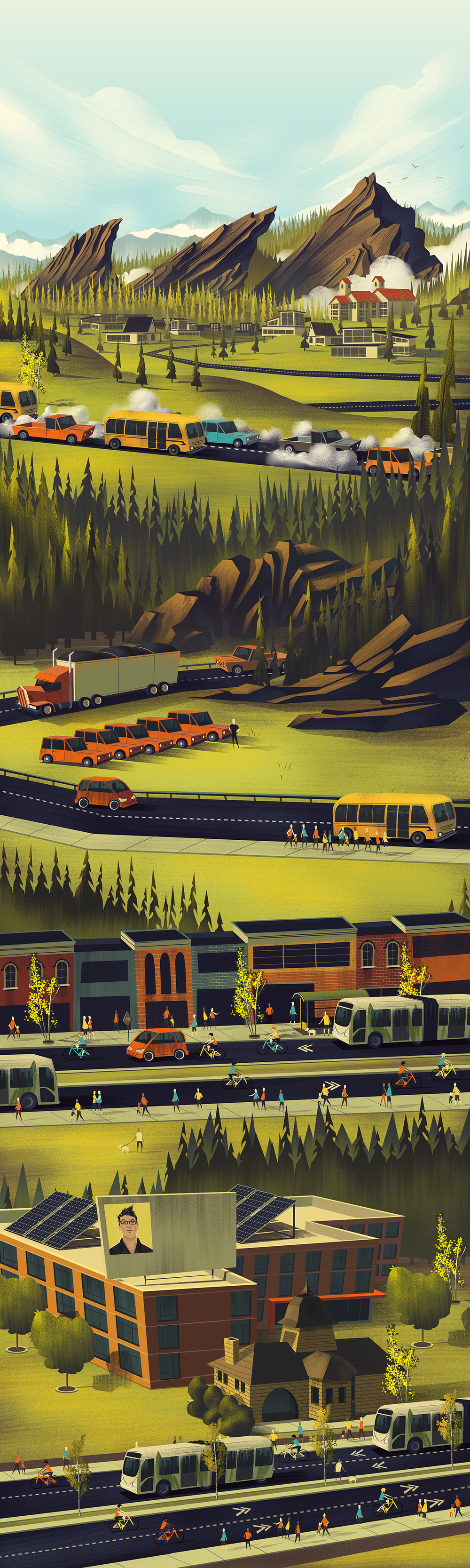 City of Boulder TMP Illustration
