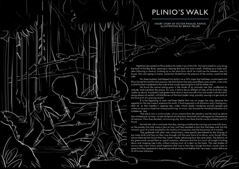 Sketch 2 Shows Plinio as the main focus.