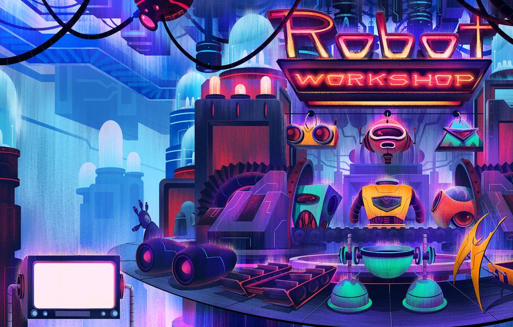 Robot Workshop · Penguin Publishing · 2014