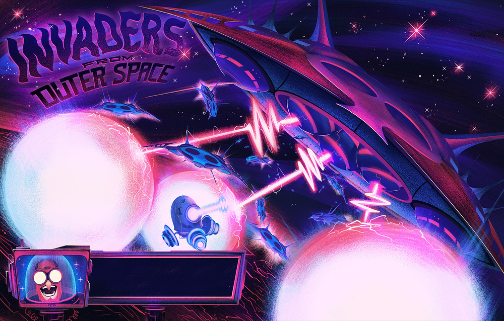 Robot Workshop  ·    2014  ·   Invaders from Outer Space