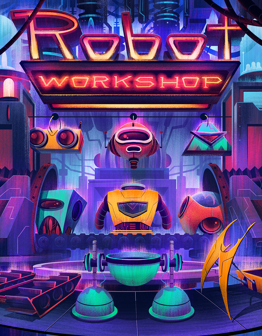 Robot Workshop · 2014 · Cover