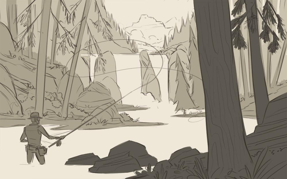 Opera Sketch 3