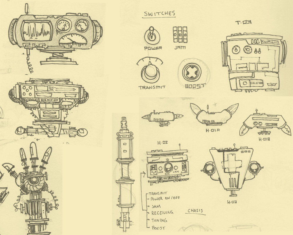 Tinybop · Robot Part Sketches