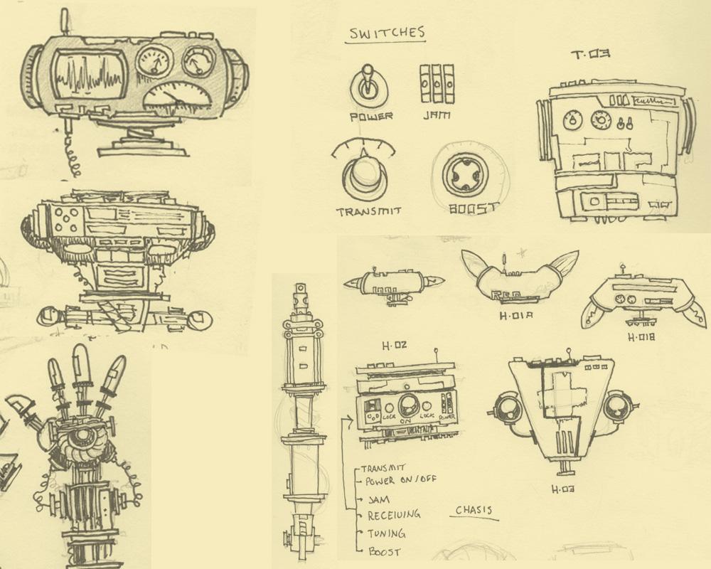 Tinybop · Robot Part Sketches