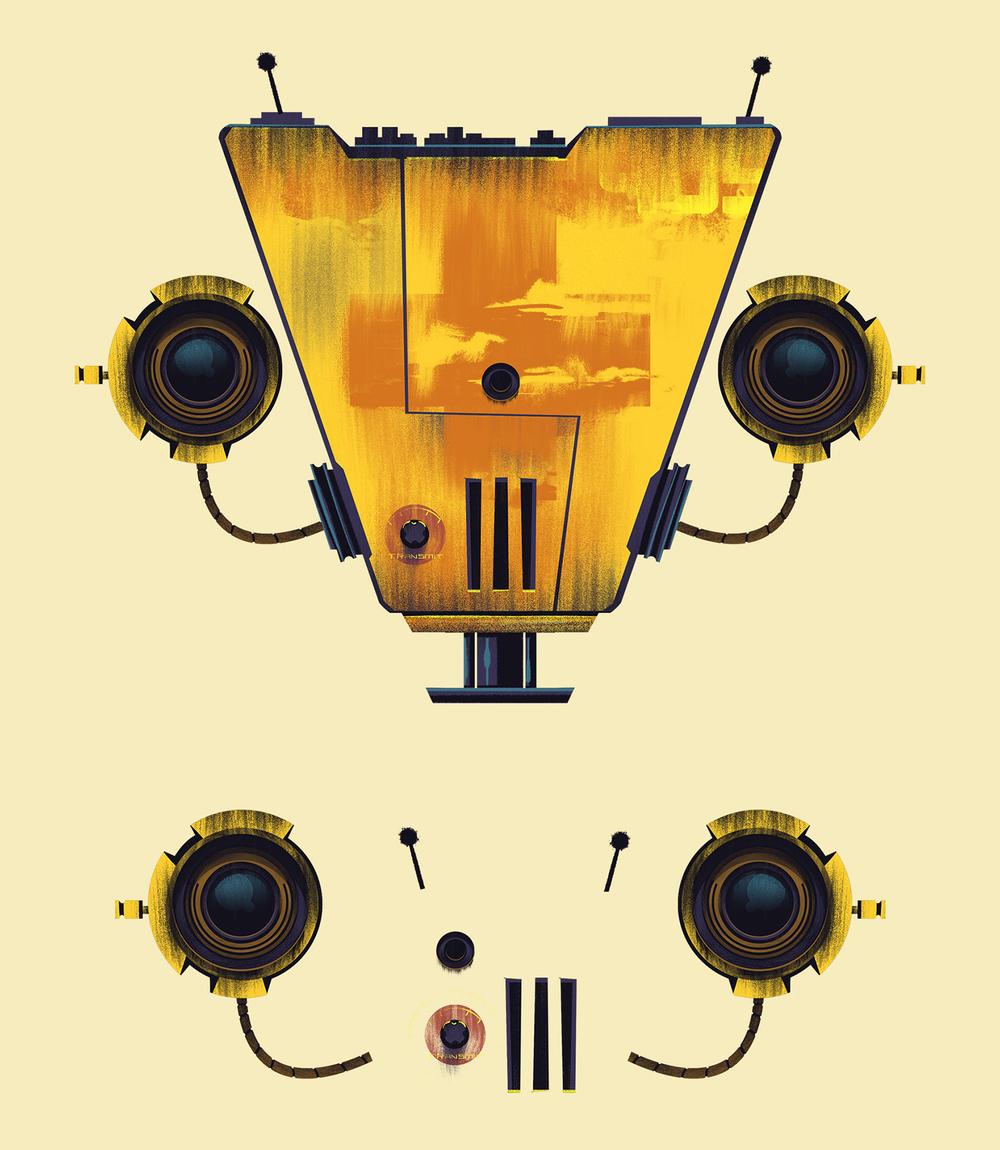 TinyBop  · Robot Face 2