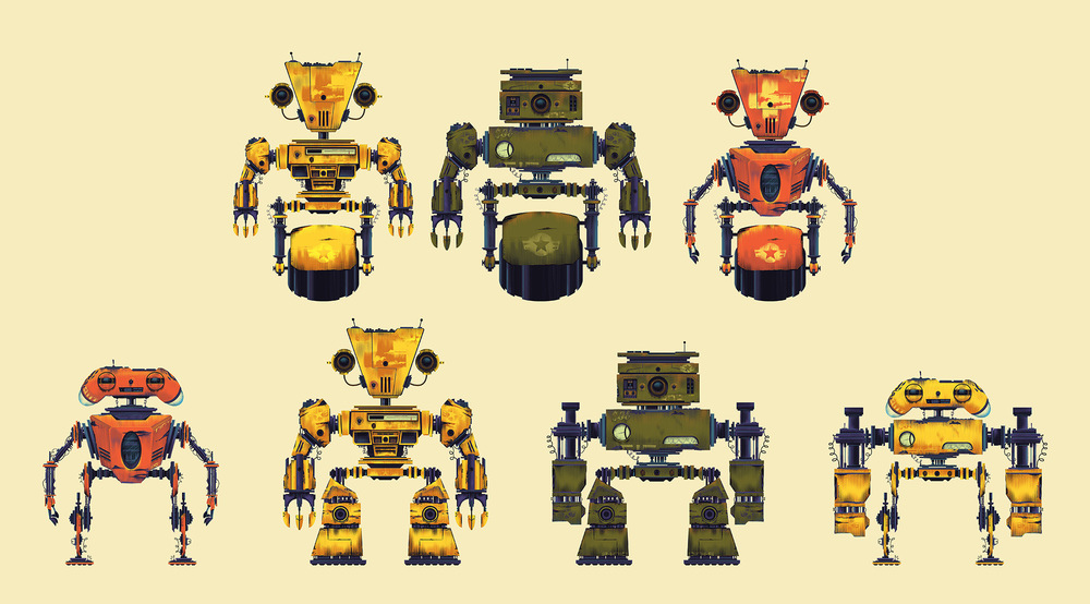 TinyBop·Robot Lineup