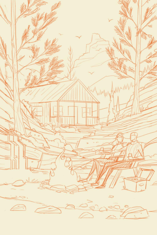 Tuff Shed · Final Sketch