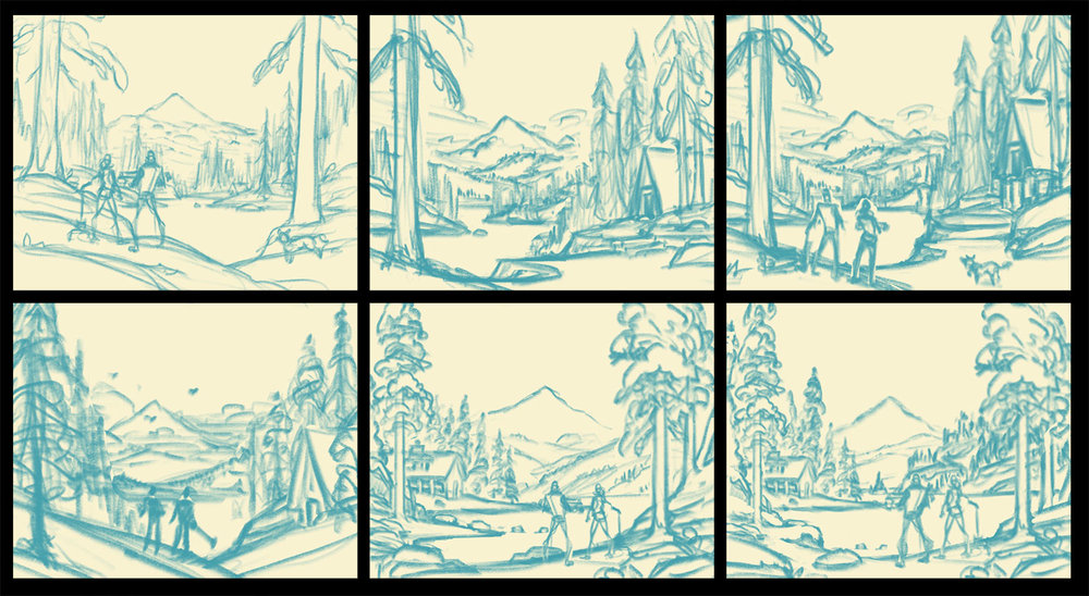 Danner  |  Thumbnail Sketches