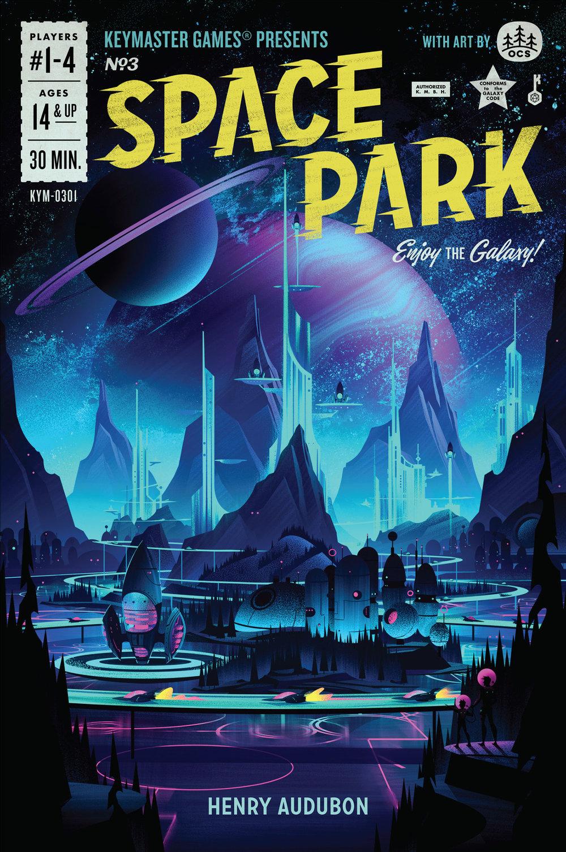 Space Park · Box Art
