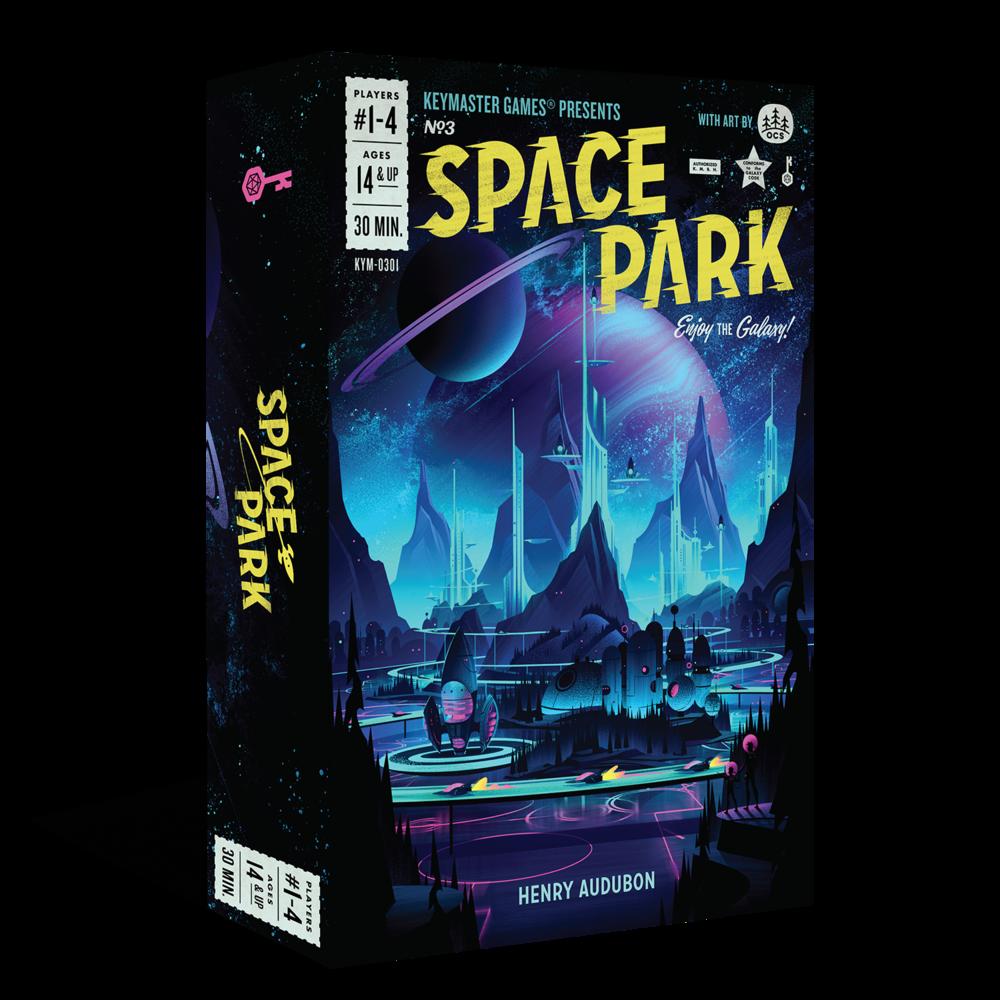 Space Park  · Box Art (Image Courtesy of Keymaster Games)