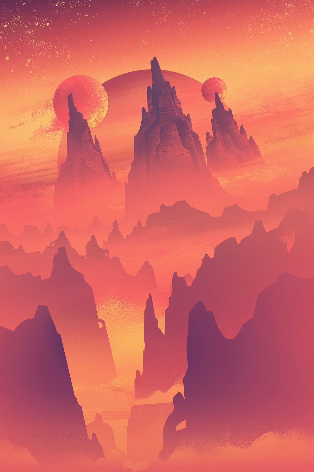 Space Park  ·  Cosmic Canyon  · Background