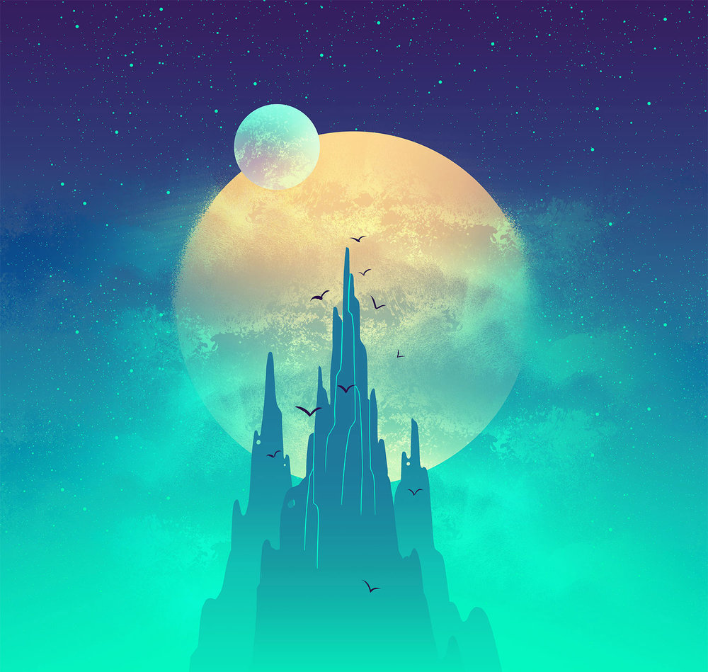 Space Park ·  Lunar Woods  · Background