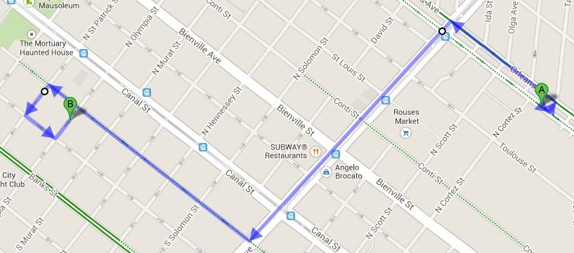 A 1.5 mile move.