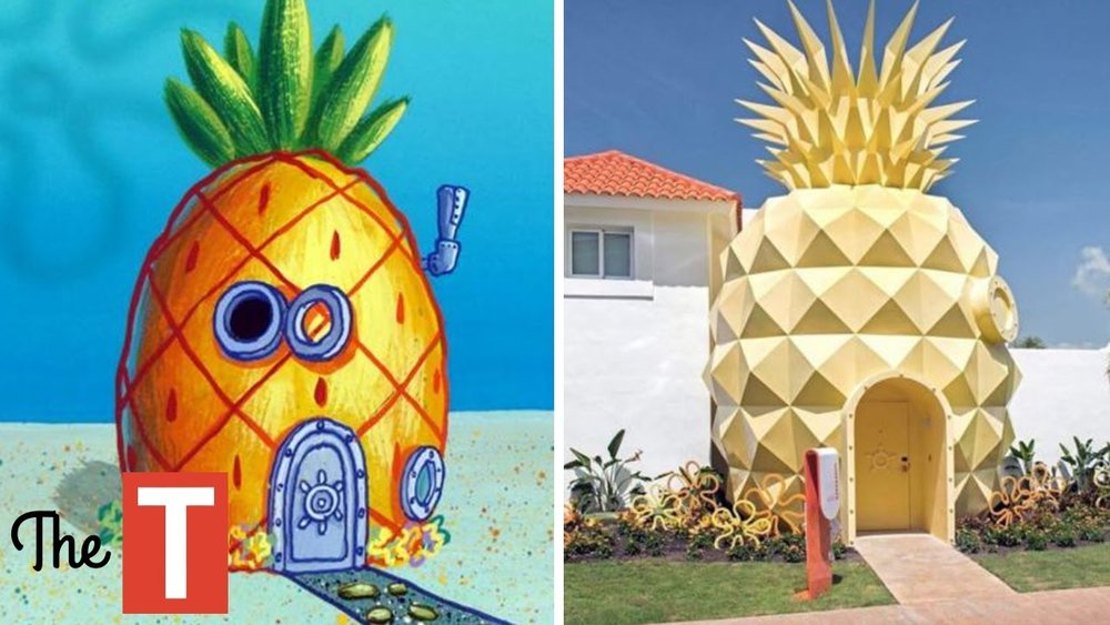 spongbob house inspiration