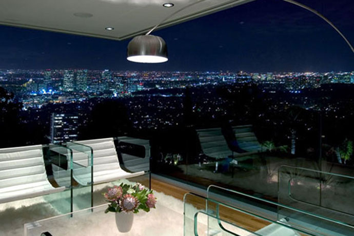 blue jay way residence: modern architecture in hollywood hills los angeles 7