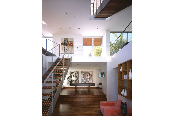 blue jay way residence: modern architecture in hollywood hills los angeles 5