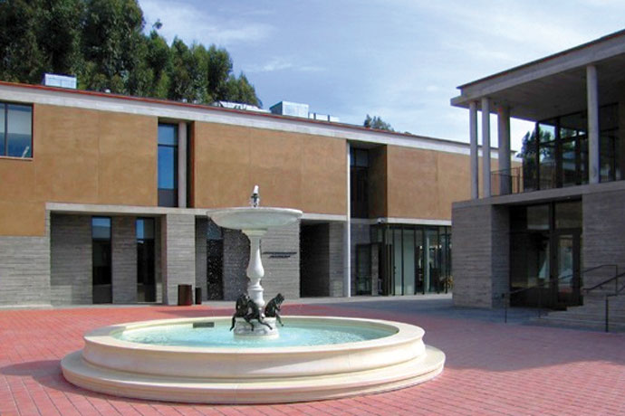 the getty villa: malibu art museum 2