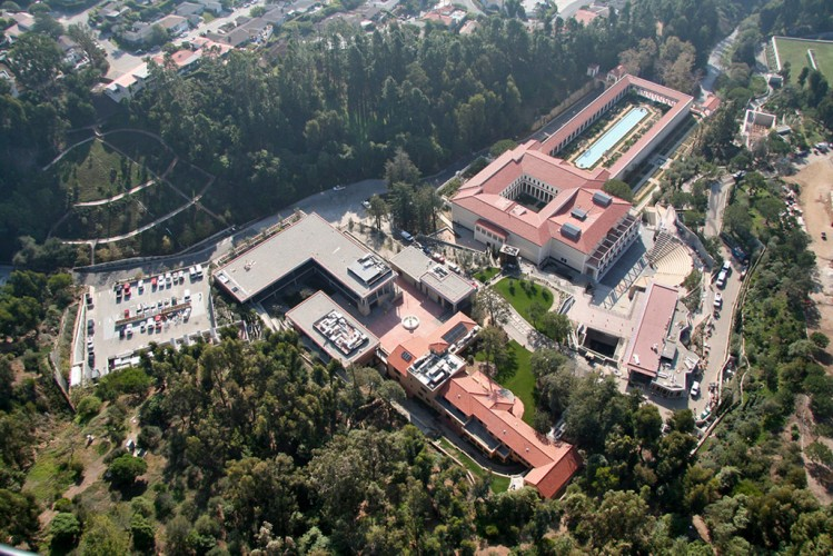 the getty villa: malibu art museum 1