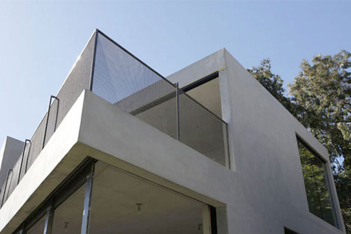 summit guest house: modern beverly hills addition 1