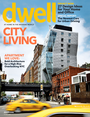 Dwell October 2013 cover