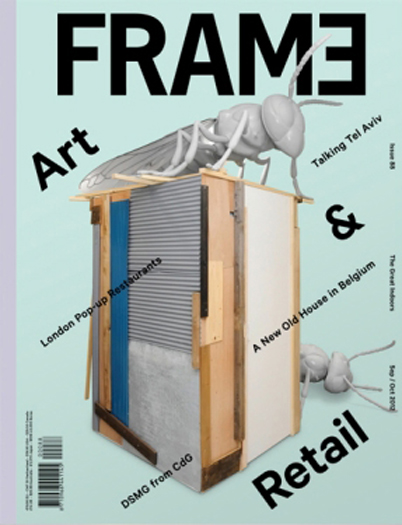 "FRAME Magazine September/October 2012 ""Visions: Dual-Purpose Hybrids Fuse Architecture and Furniture"" by Ines Reves Project feature: Hybrid Office read more"