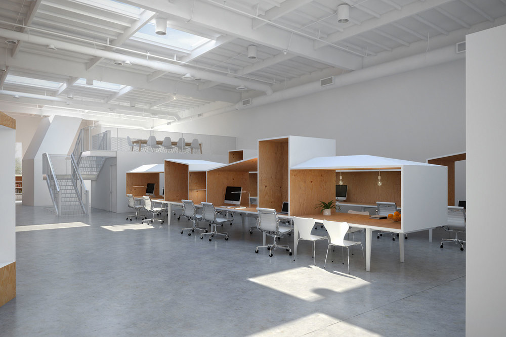 Charming Hybrid Office