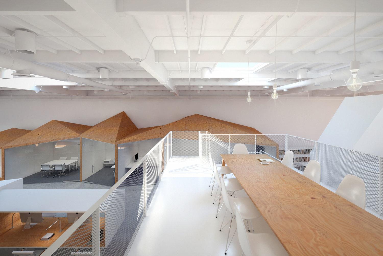 architects office design. Hybrid Office Architects Design