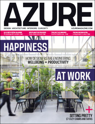 "Azure Magazine  June 2017  ""AZ Awards 2017""  Project feature: Hangar Office"