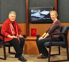 Jody Seay, host of Back Page, and me.