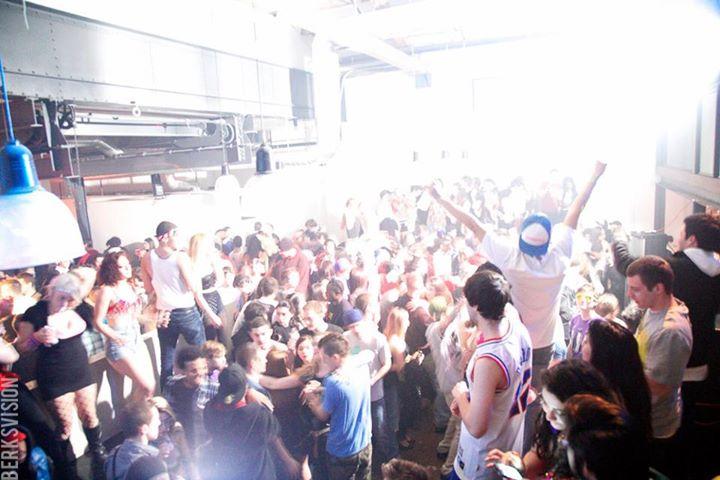 Our last NYE party got a little crazy