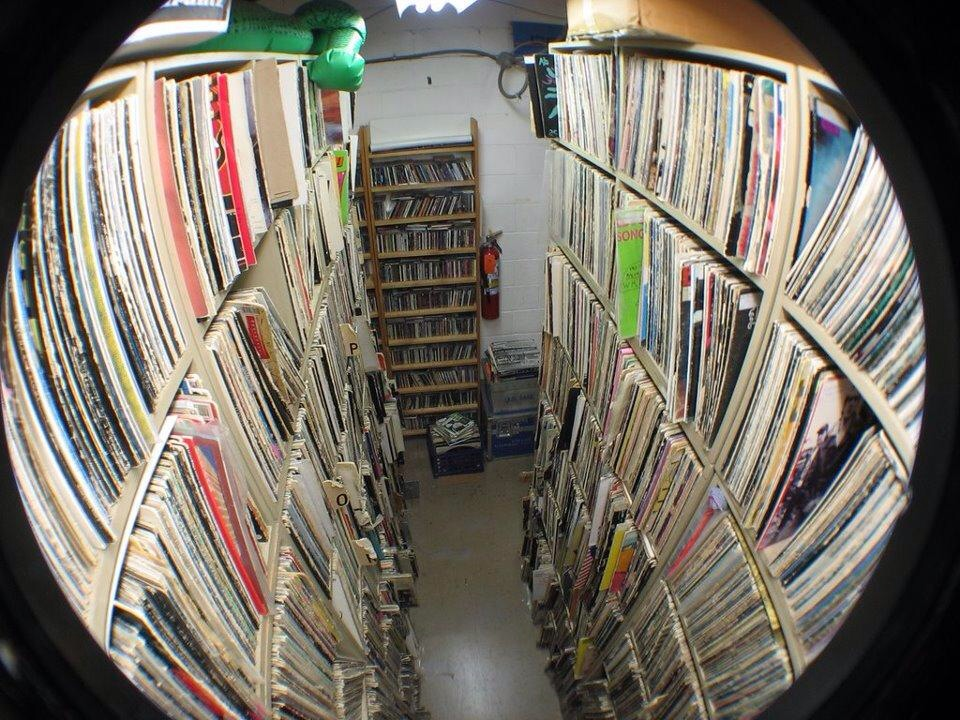 Our record library has got music for DAYS!