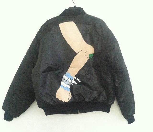 A custom commissioned jacket by Danni