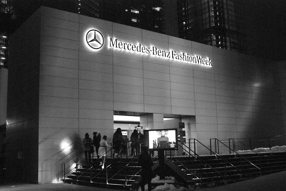 The Mercedes-Benz Fashion Week as we know it is no more. Photo via mercedesblog.com