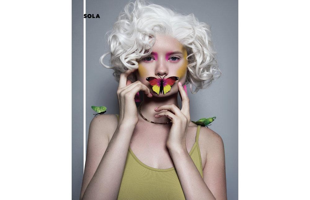 Sola Magazine Cover Editorial