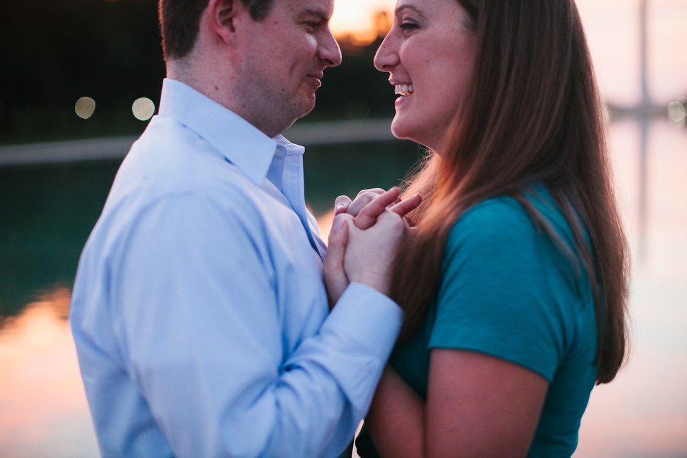 Kevin + Katie | Washington D.C. Engagement Session | Ellie Be
