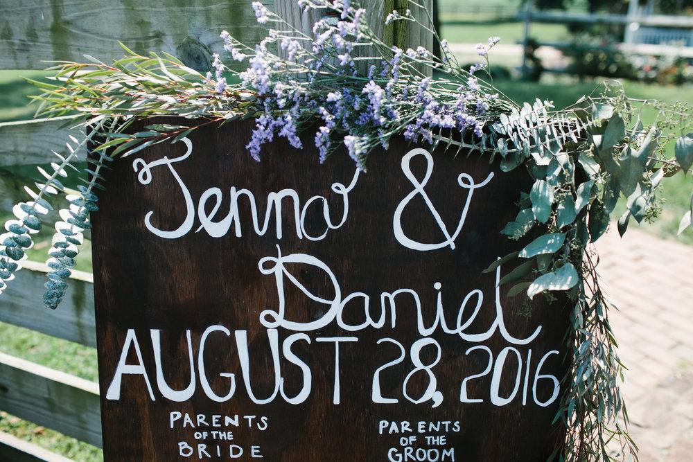 Daniel + Jenna | Ellie Be