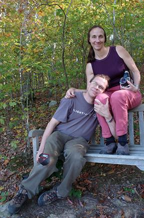 Ellen Cassilly & Frank Konhaus  Photograph by Mona Kuhn