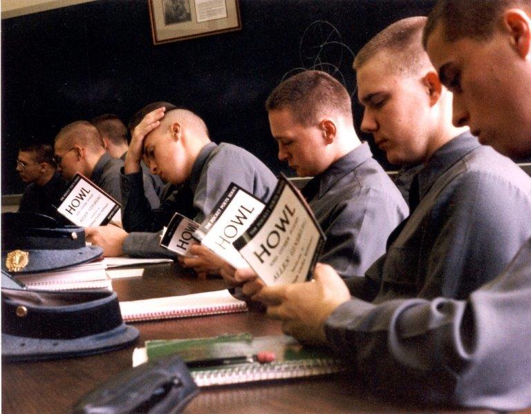 Cadets Read Howl