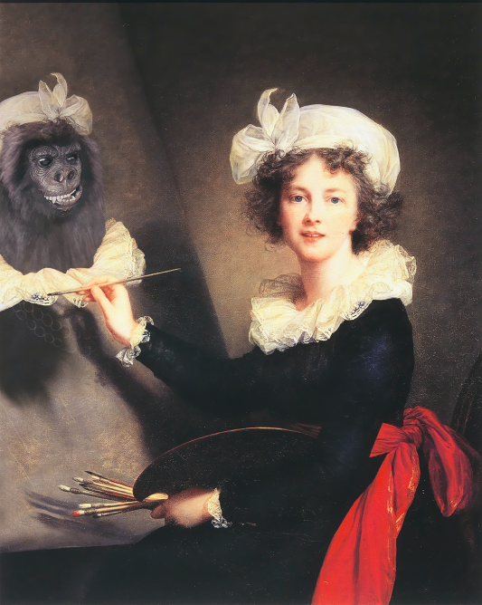 The Real Guerrillas: The Early Years, AKA Élisabeth Louise Vigée Le Brun, 2015-2016