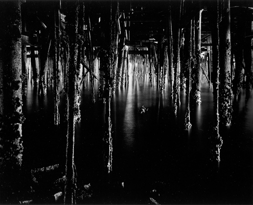 - Under the Monterey Wharf, 1969Wynn BullockLoaned to the Nasher Museum Of Art at Duke UniversityDurham, North Carolina, 2013