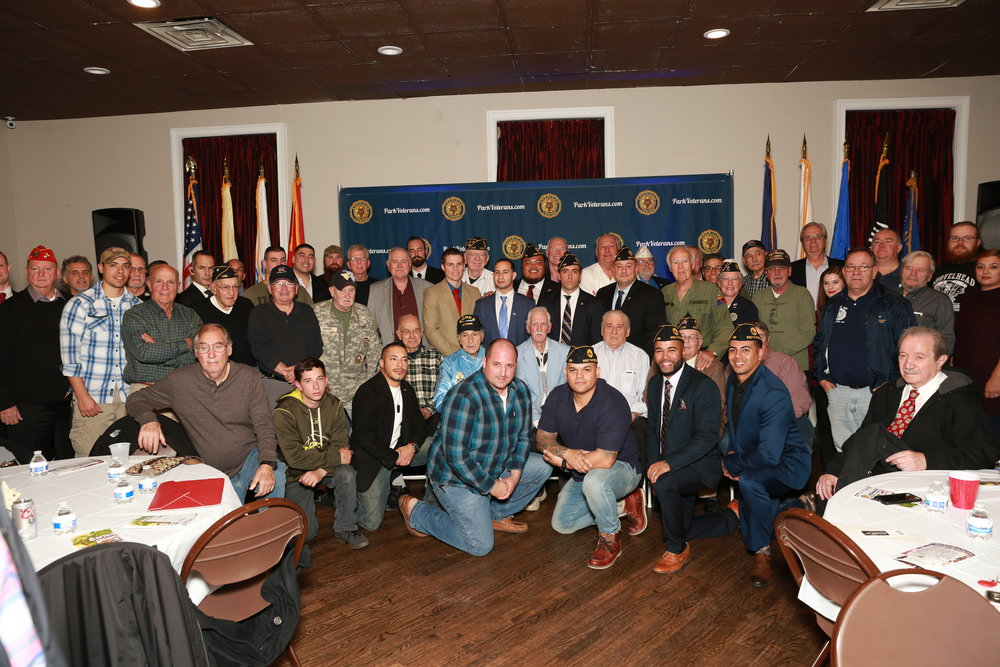 Annual Veterans Day Celerations at the Legion November 11th 2016- The tradition is cemented