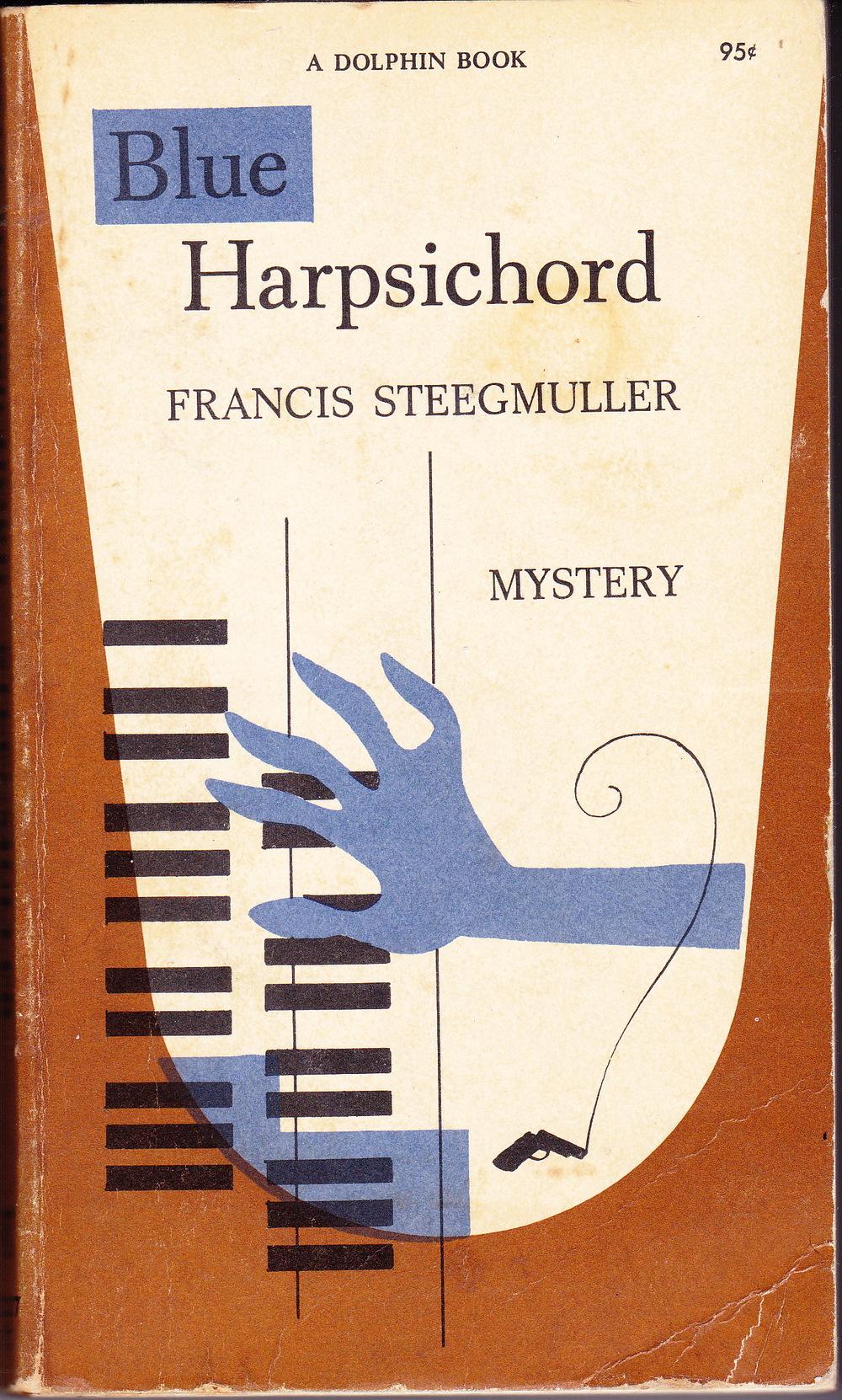 Francis Steegmuller, Blue Harpsichord , 1949